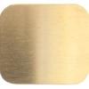 Metal Blank 24ga Brass Rectangle 19x25mm No Hole